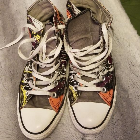 All Converse Art Tops Poshmark Size 8 Star ShoesStreet High w0P8OXnk